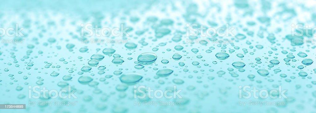 Aqua Water Droplets -01 royalty-free stock photo