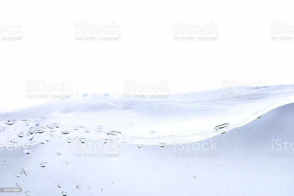 Aqua Waterscape royalty-free stock photo