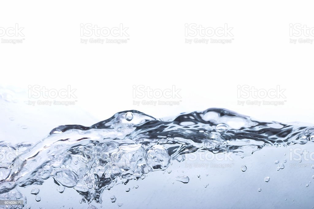Aqua Waterscape royalty-free stock photo