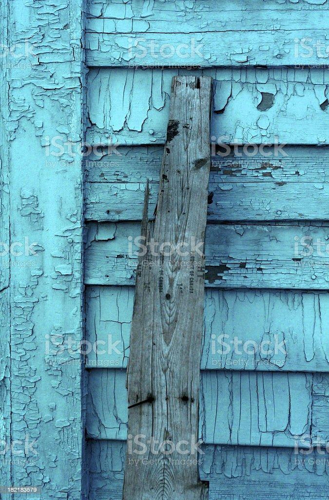 Aqua Wood stock photo