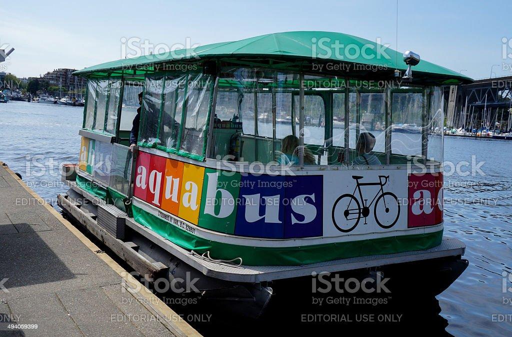 Aquabus Ferry royalty-free stock photo