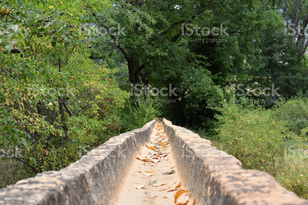 aquaduct stock photo