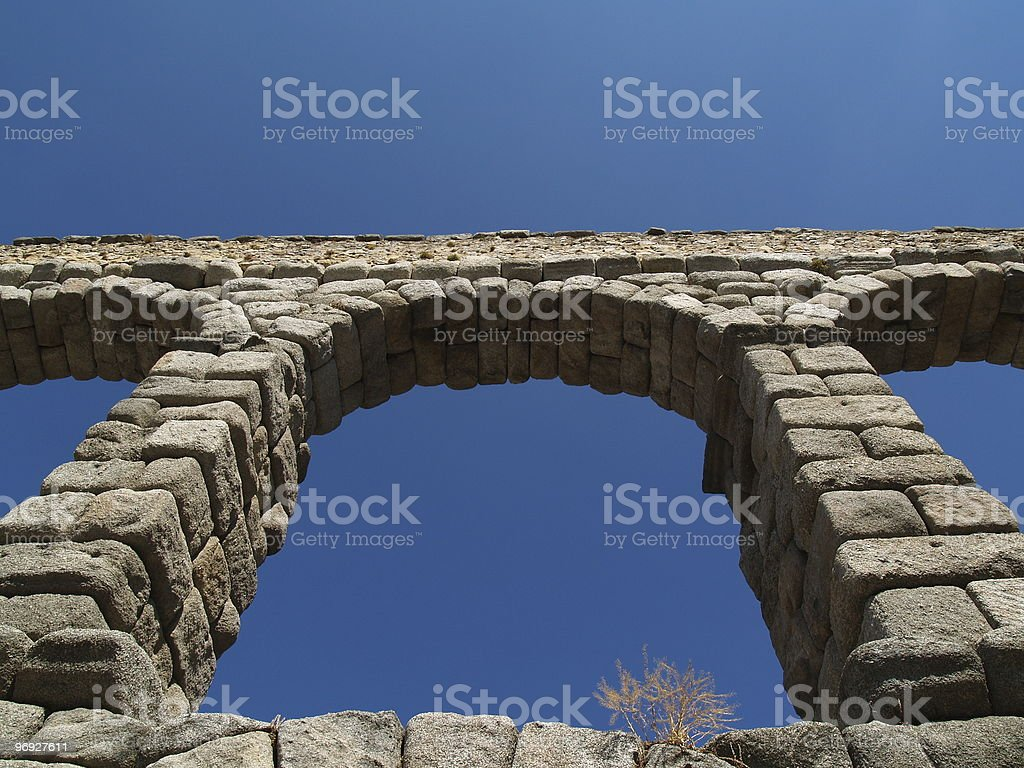 Aquaduct royalty-free stock photo