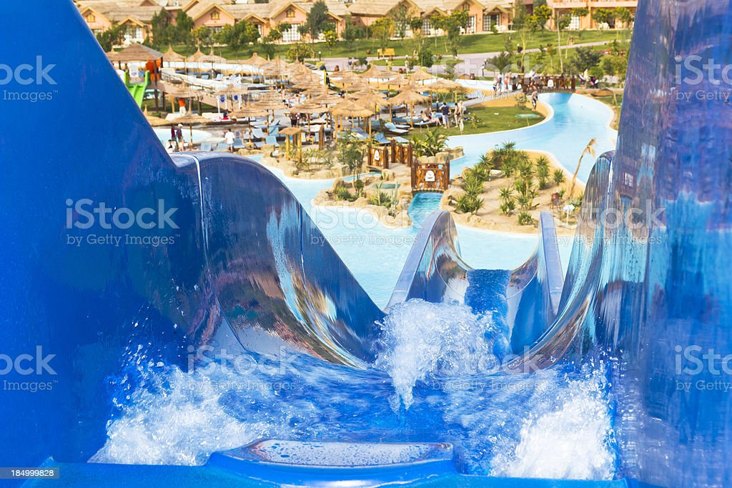 Aqualand stock photo