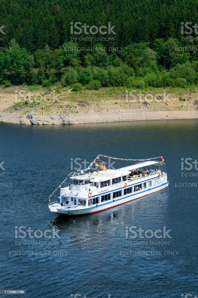 National Park Harz, Lower Saxony, Germany - : Agrement passanger boat...