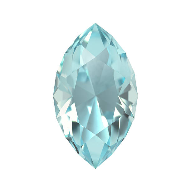 Aquamarine, Gem, Jewel stock photo