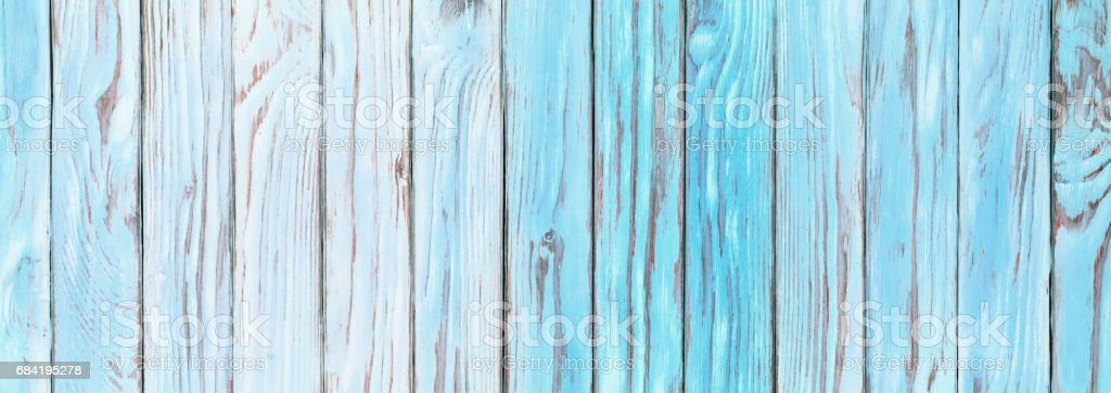 Aquamarine wooden planks, faded wood surface rustic blue table wallpaper royalty-free stock photo