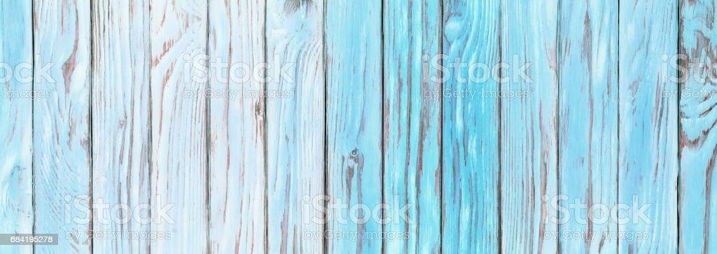 Les planches de bois bleu-vert, s'est évanouie à papier peint bois surface table bleue rustique photo libre de droits