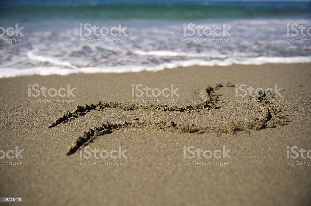 Aquarius sign royalty-free stock photo