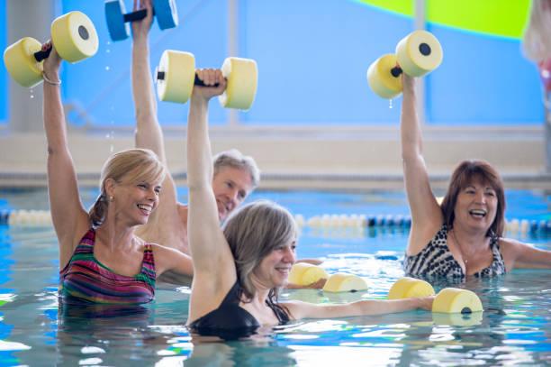 Aquatic Fitness - foto stock