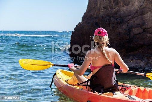 516449022 istock photo Aquatic sport & kayaking & sea 910589884