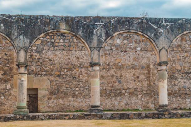 Aqueduct background stock photo