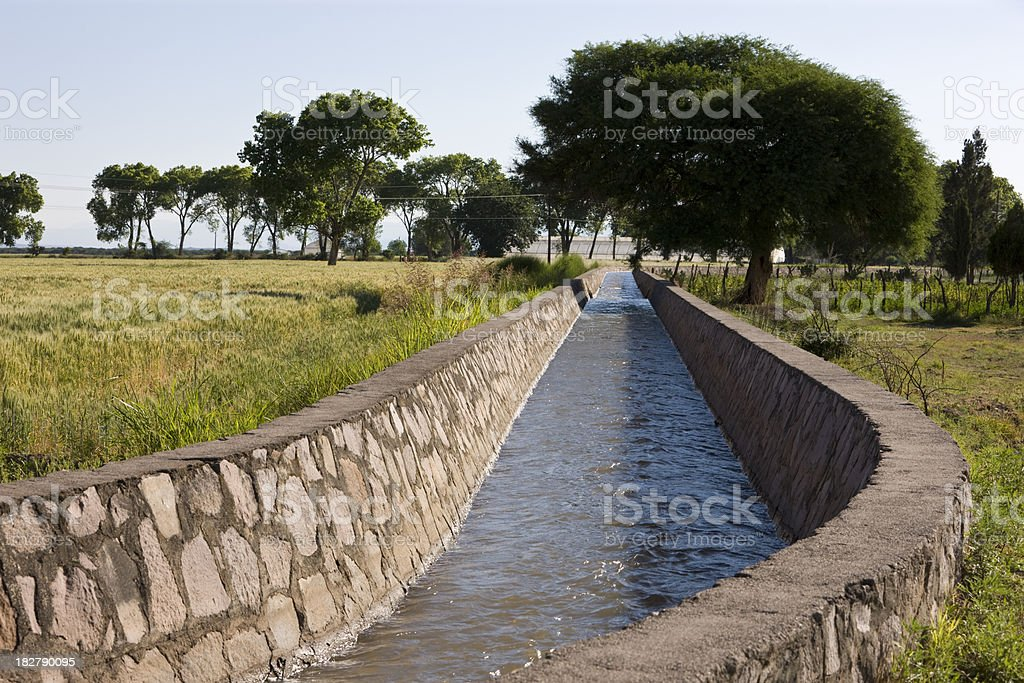 Aqueduct stock photo