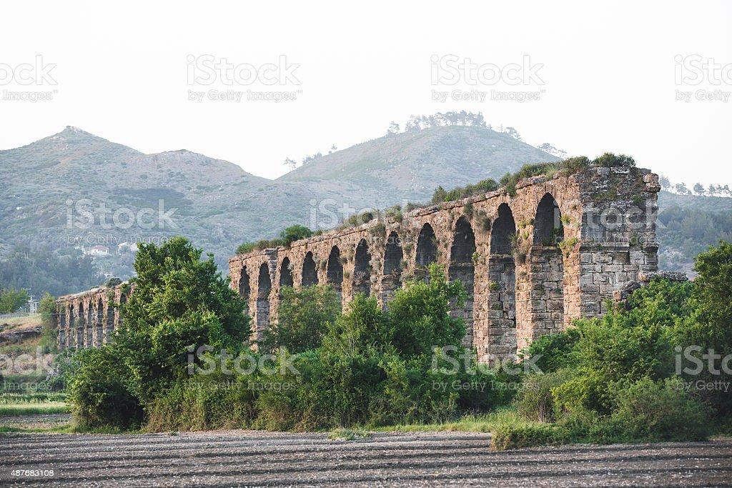 Aqueduct stok fotoğrafı