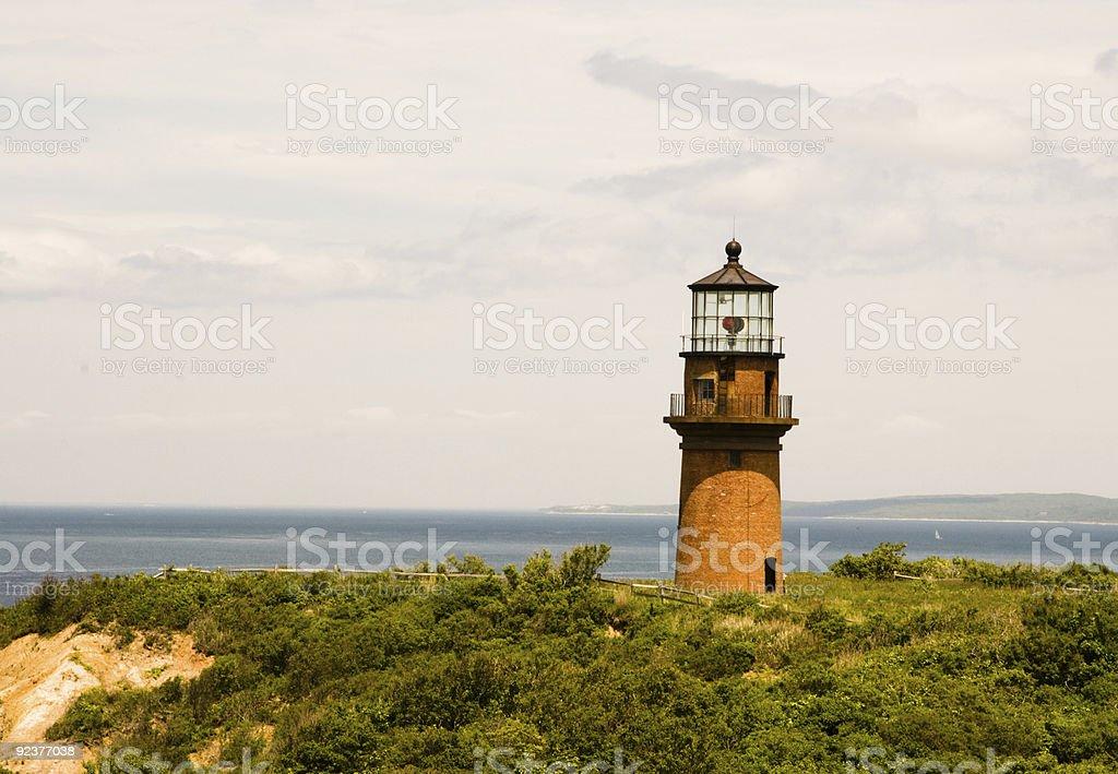 Aquinnah (Gay-Head-Leuchtturm Lizenzfreies stock-foto