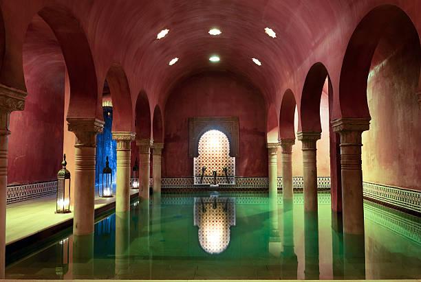 Arab baños en Granada, Andalucía, España - foto de stock