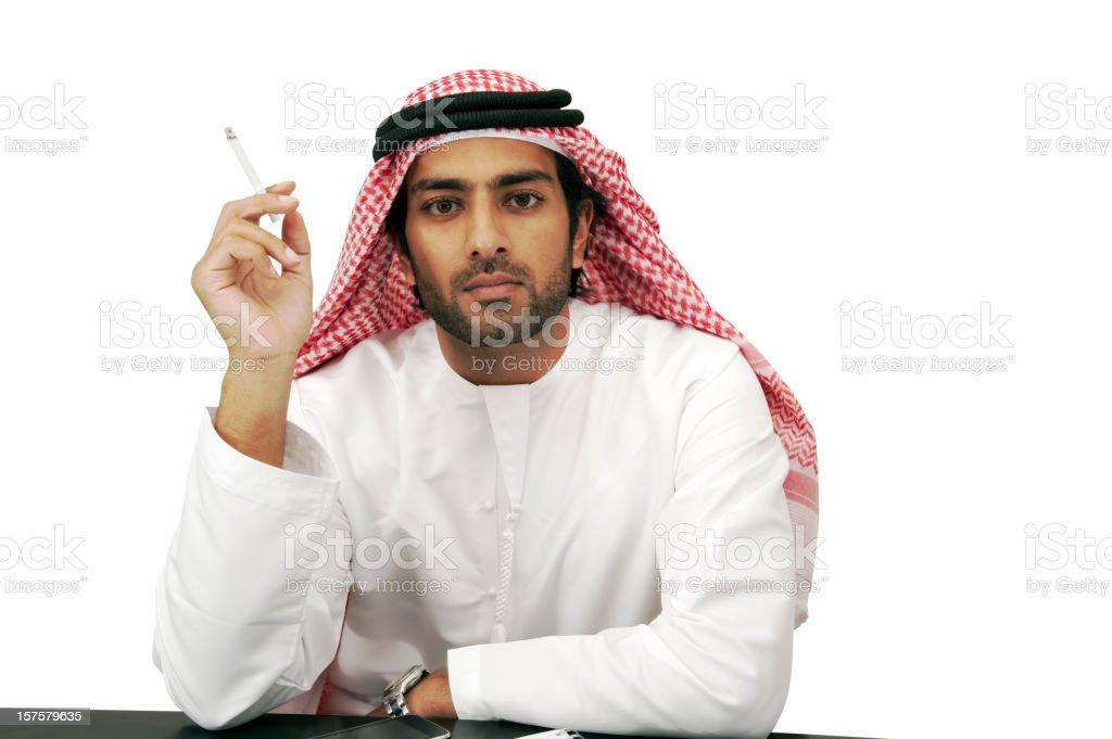 Arab business man royalty-free stock photo