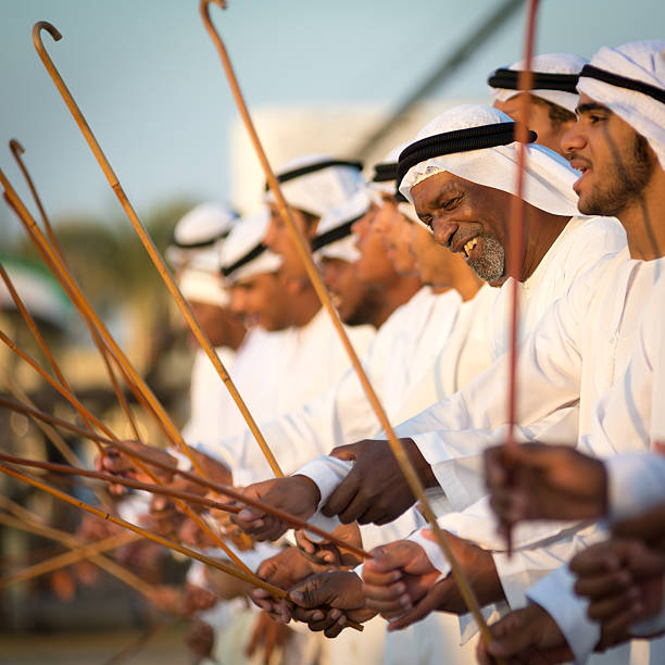 arab dance - uae national day 個照片及圖片檔