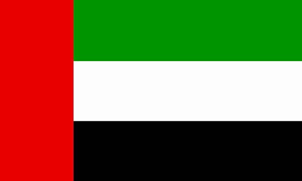 flaga emiraty arabskie - uae flag zdjęcia i obrazy z banku zdjęć