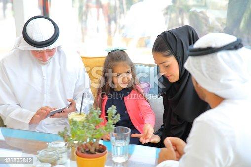 istock Arab Emirati family 482832842