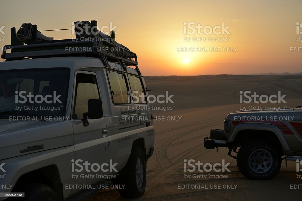 Arabische Amateure Im Auto