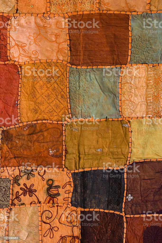 Arab Patchwork stock photo