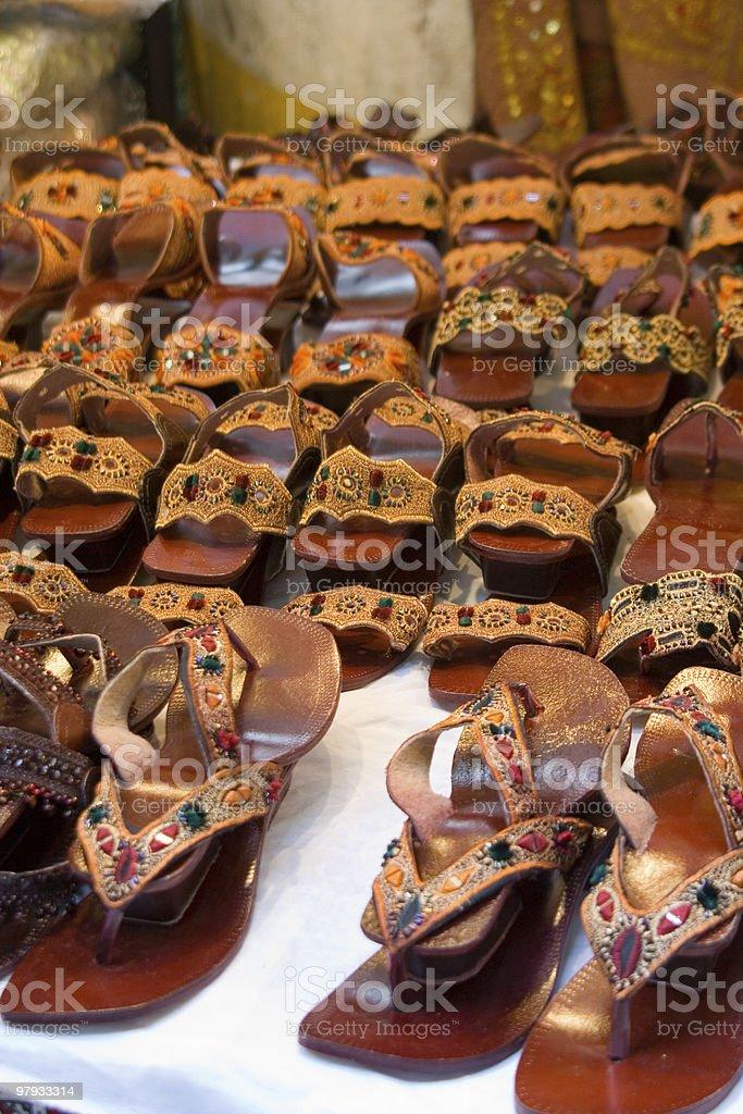 Arab Shoe royalty-free stock photo