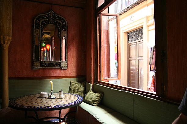 Arab tea house in Granada  tea room stock pictures, royalty-free photos & images