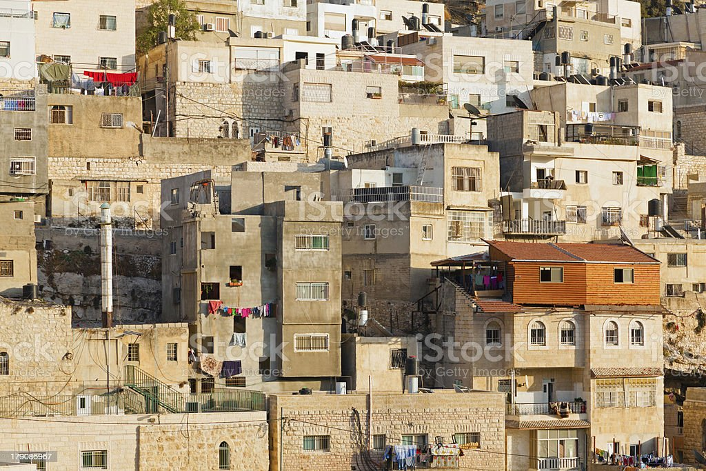 Arab village royalty-free stock photo