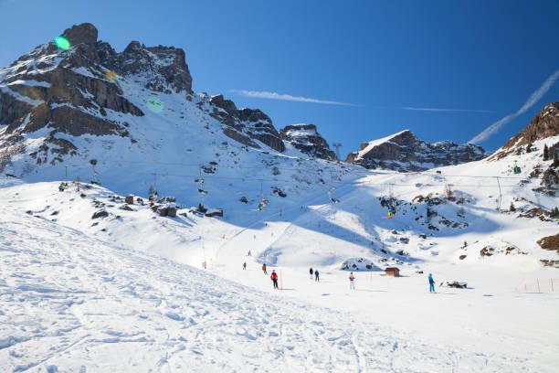 Arabba-Marmolada, Dolomitas, Italia - foto de stock