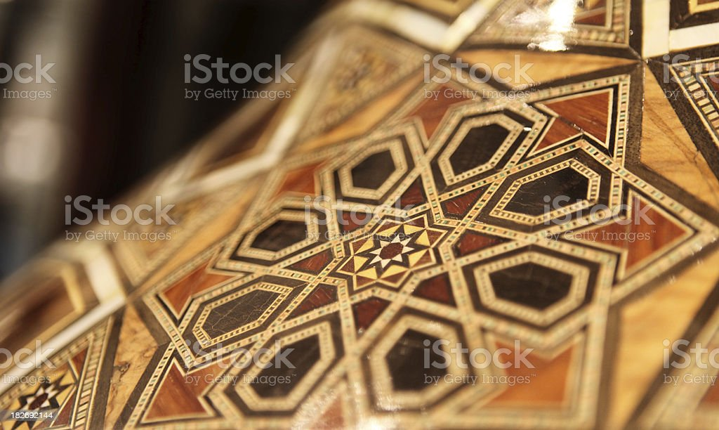 Arabesque artcraft royalty-free stock photo