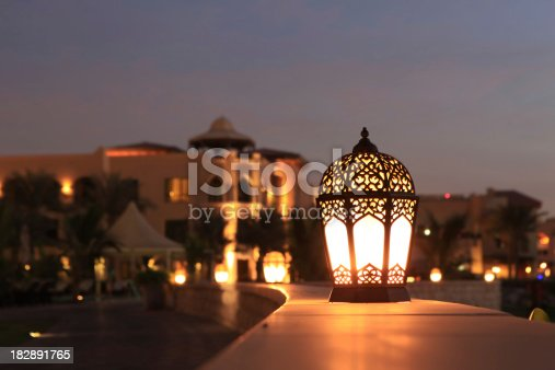 istock Arabesque lantern 182891765