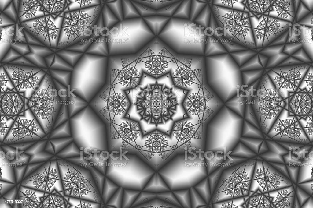Arabesque pattern in high detail stock photo