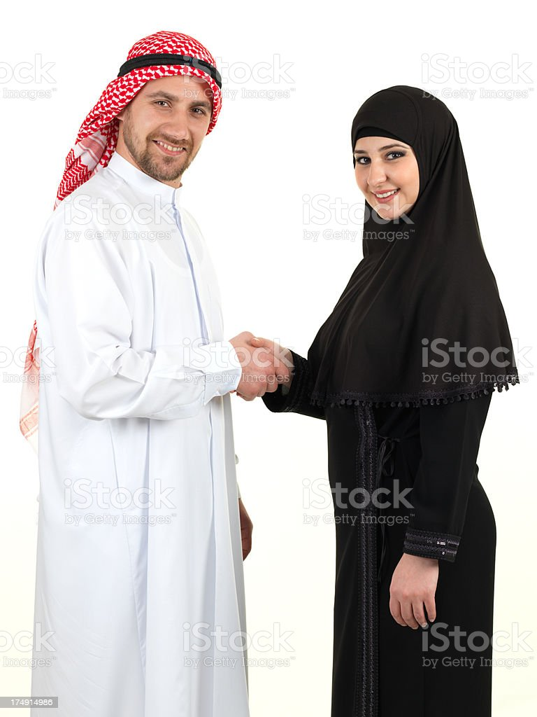 Arabia Business royalty-free stock photo