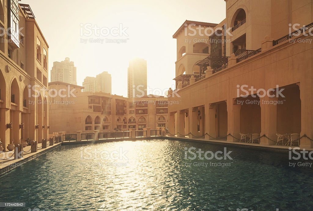 Arabian architecture royalty-free stock photo