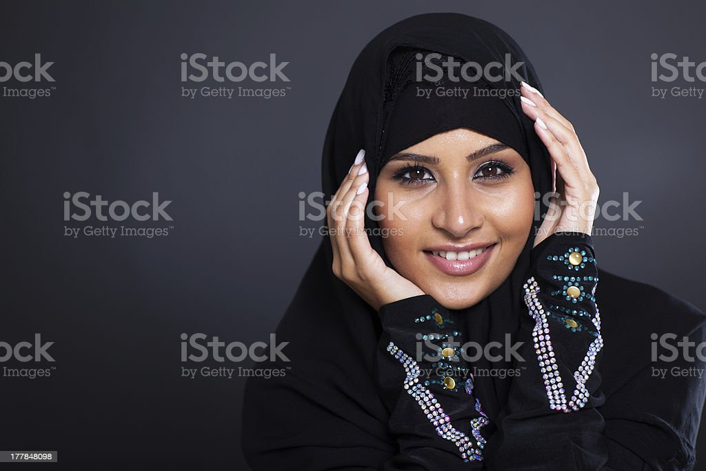 Arabian beauty royalty-free stock photo