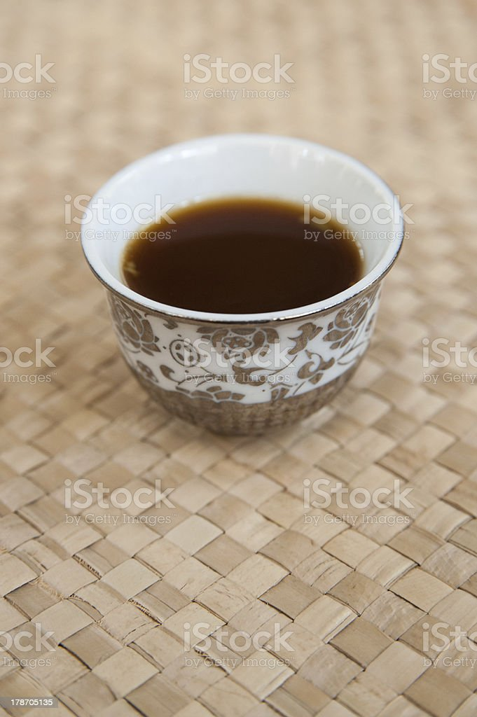 Arabian Coffee royalty-free stock photo