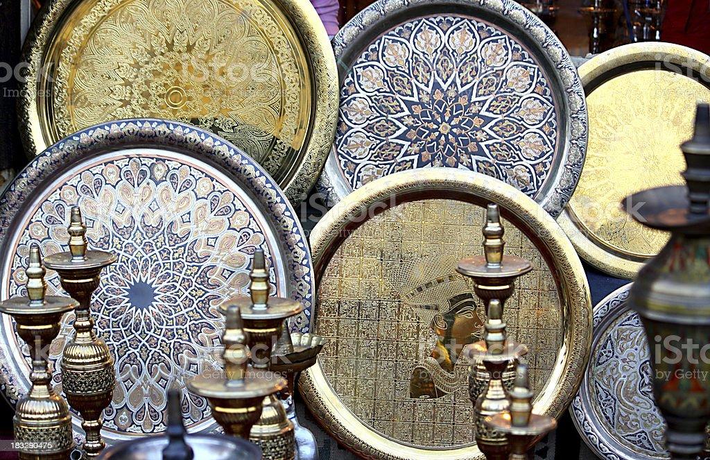 Arabian Dish stock photo