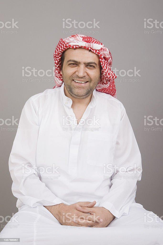 Arabian man royalty-free stock photo