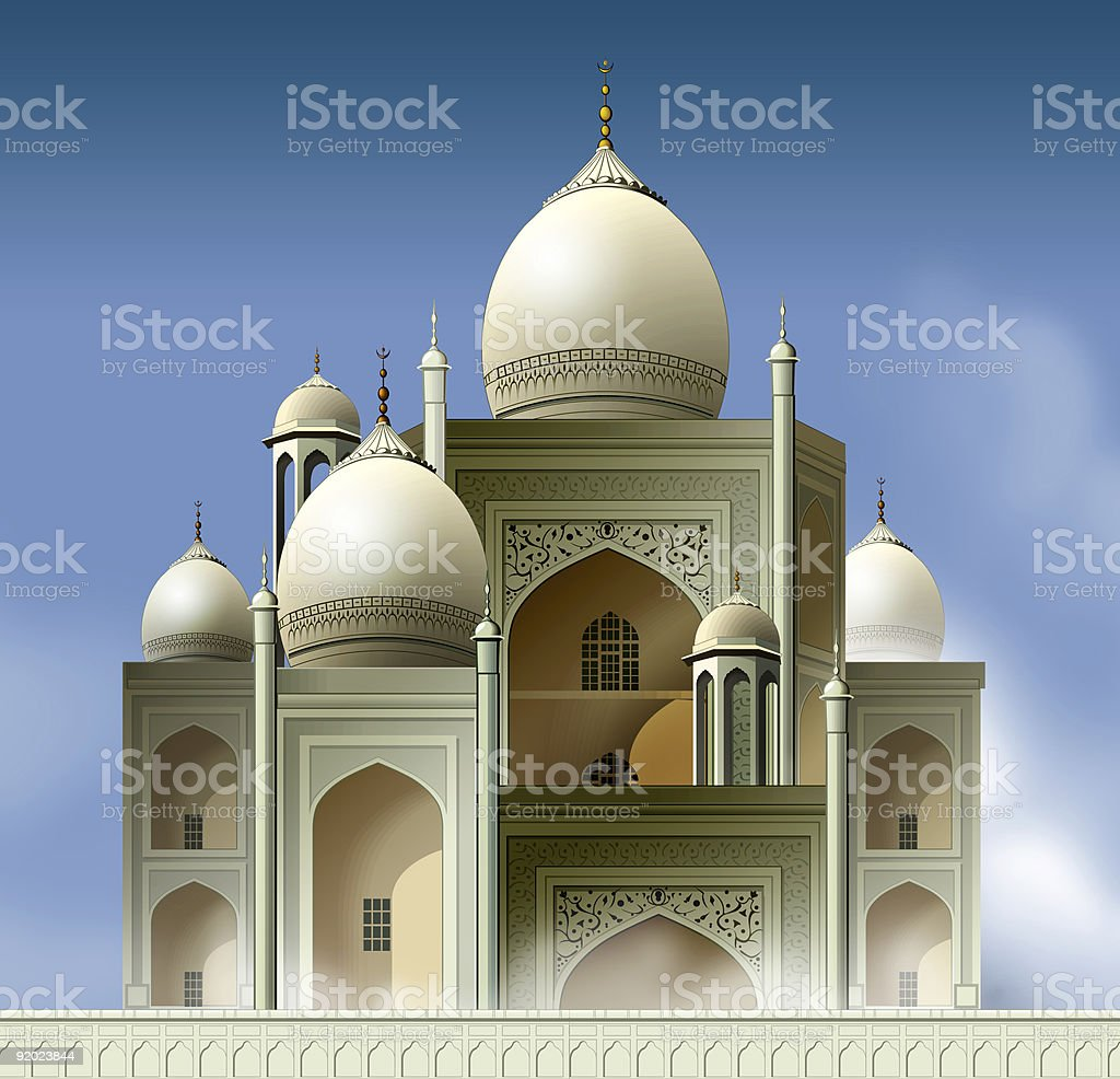 Arabian Mosque 2 royalty-free stock photo