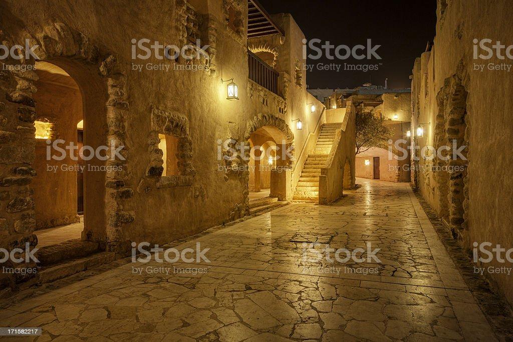 Arabian Night stock photo