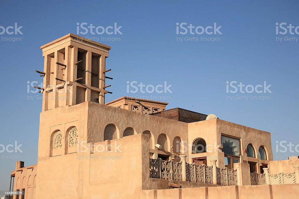 Arabian old House stock photo