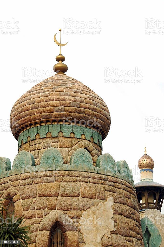 Arabian Roof royalty-free stock photo
