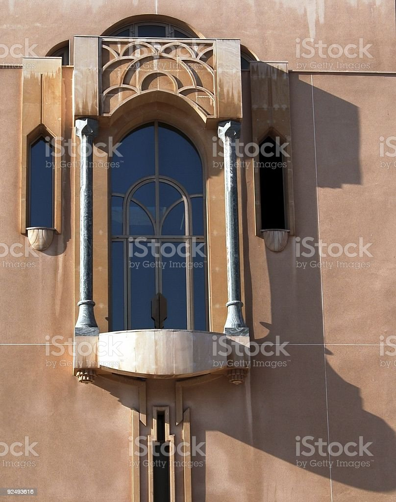 Arabian  window royalty-free stock photo