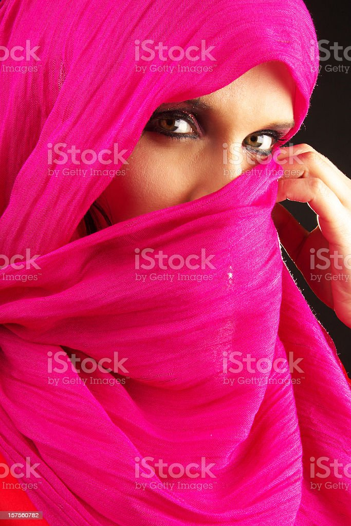 Arabian woman royalty-free stock photo