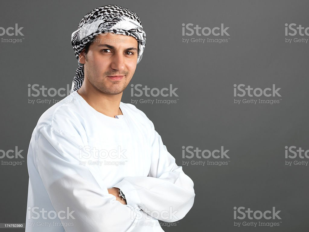 Arabian Young Adult Man royalty-free stock photo