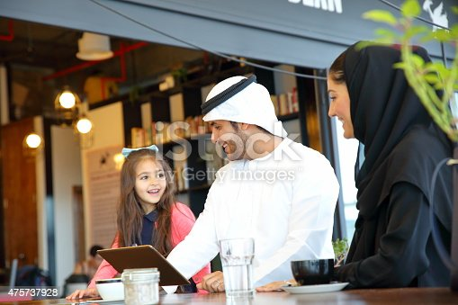 istock Arabian Young family 475737928