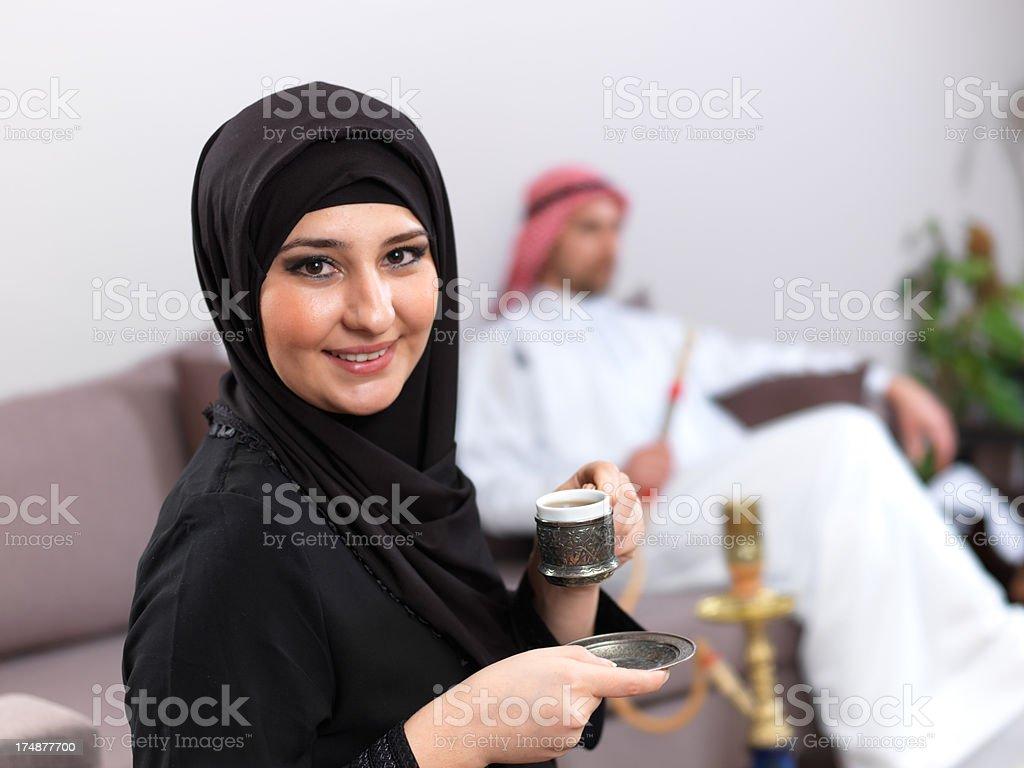 Arabian Young Woman royalty-free stock photo