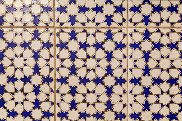 Arabic abstract pattern on a tile seamless tile background blue white picture id1286864454?b=1&k=6&m=1286864454&s=612x612&w=0&h=nbjjfsfz6dtkvygkvcvzrwsyyimsy wlyzxdc2cwhga=