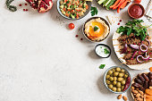istock Arabic and Middle Eastern food 1200458141